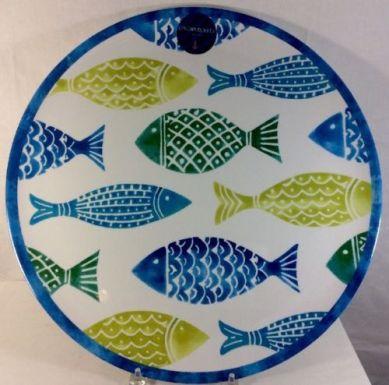 cynthia-rowley-fish-melamine-round-serving-tray-platter-picnic-beach-marine-24f622b7f4f8fe60b4bde0b9fd79aa48